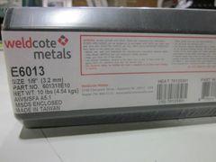 """BOX WELDCOTE METALS WELDING ELECTRODE 1/8"""" E6013 NEW"""