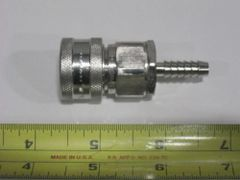 "SNAP-TITE VACUUM QUICK COUPLER 1/4"" STAINLESS STEEL SVHC-4 NOS"