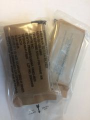 2 MILITARY FIELD FIRST AID DRESSINGS CAMOUFLAGED NOS