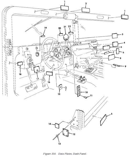 20 DATA PLATE MACHINE SCREWS MS35206-243 NOS
