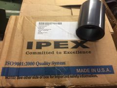 "1 BOX OF 10 IPEX 1-1/4"" PVC SCHEDULE 80 COUPLINGS 829-012 NEW"