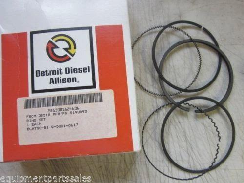 M561 DETROIT DIESEL 53 SERIES RING SET 5198092 NEW