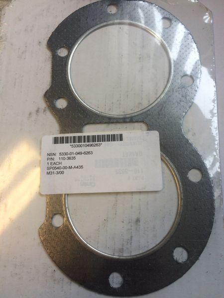 MEP-002A 5 KW MEP-003A 10 KW GENERATOR CYLINDER HEAD GASKET 110-3635, 5330-01-049-6263 NOS