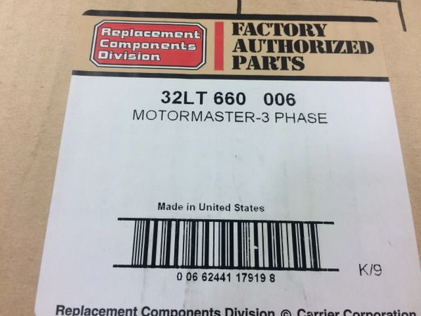 MOTORMASTER 3 PHASE CONTROL 32LT 660 006 NOS