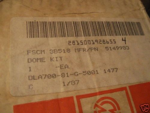DETROIT DIESEL PISTON KIT 5149983 NOS