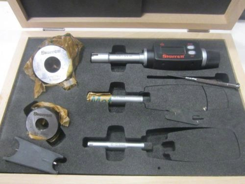 "STARRETT DIGITAL ELECTRONIC INTERNAL MICROMETER SET 3/8"" - 3/4"" S780XTDZ GREAT CONDITION"
