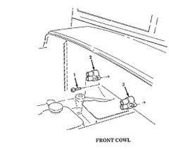M939 FRONT COWL CIRCUIT BREAKER AA55571/01-004, 5925-00-333-1584 NOS