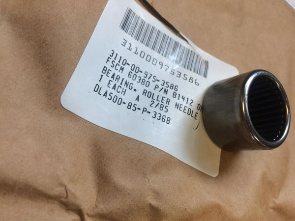 M274 MULE FRONT AXLE NEEDLE BEARING B14120H NOS