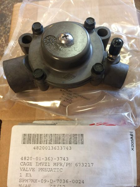M1078 Wheel Pneumatic Valve 673217  4820