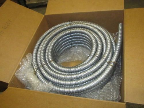 100' FOOT FLEXIBLE METAL CONDUCT NEW