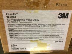 3M AIR REGULATOR VALVE ASSEMBLY W-3061 NOS