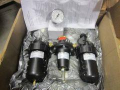 PARKER PNEUMATIC FILTER REGULATOR R119, L606, F602 NEW