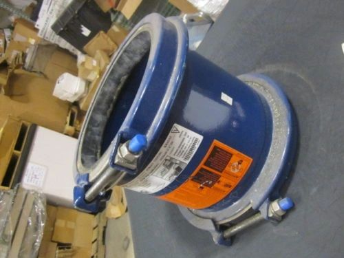 """TPS KRAUSZ HYMAX 8"""" IPS/DUCTILE TO AC 200 COUPLING NEW"""