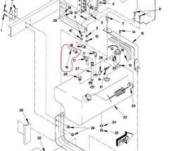 M1078 FUEL TANK HOSE ASSEMBLY 12418124-001, 4720-01-372-4876 NOS