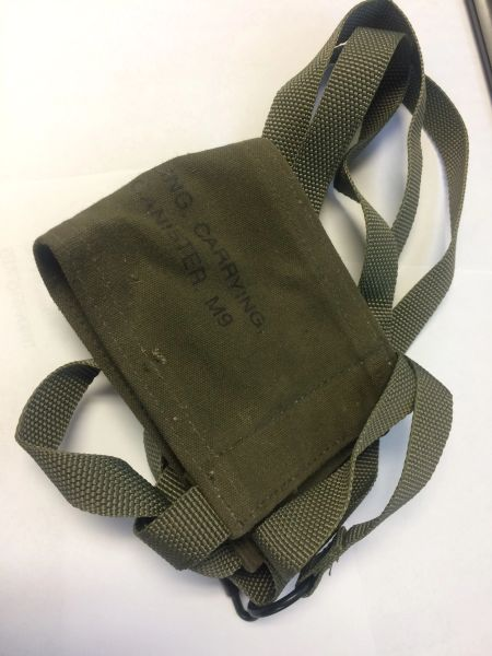 M9 CARRYING CANISTER SLING NOS