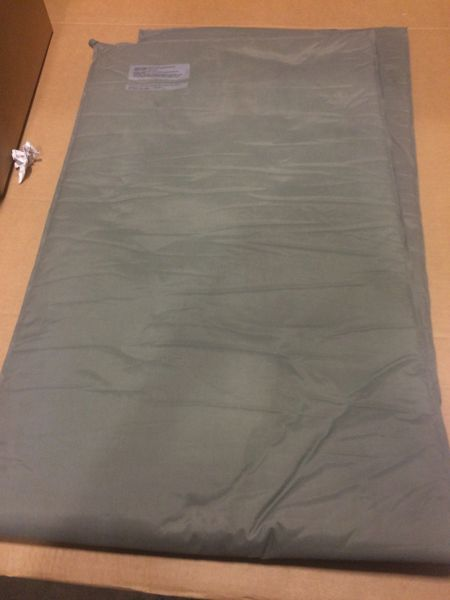 MILITARY ISSUED THERM-A-REST SLEEPING MAT A-A-55074, 8465-01-393-6515 NOS