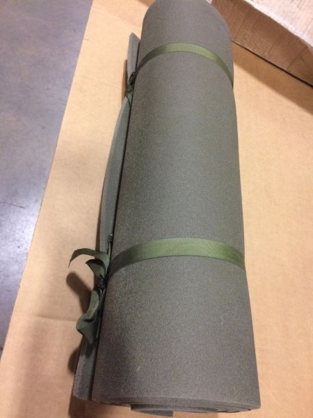 MILITARY ISSUED SLEEPING MAT MIL-M-44104, 8465-01-109-3369 NOS