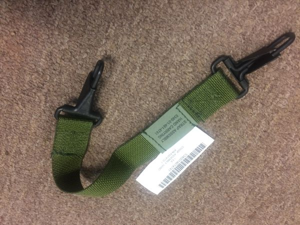 RADIO CARRYING STRAP, HAND STRAP ASSEMBLY A3274735-1, 5340-01-461-4741 NOS