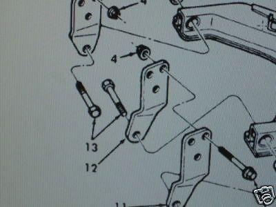 M151A2 JEEP REAR SUSPENSION HANGER 11639649-2 NOS on
