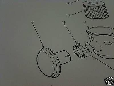 M35 2-1/2 TON AIR CLEANER INTAKE CAP 10917048 NOS