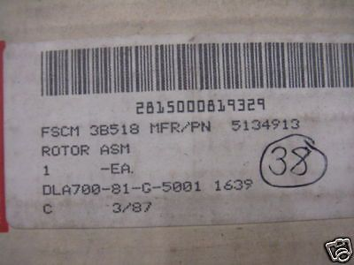 DETROIT DIESEL 53 SERIES 6V53T ROTOR ASSY 5134913 NOS
