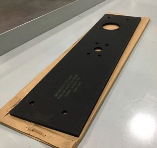 M1113 MOUNTING PLATE 12469169, 5340-01-498-7964 NOS