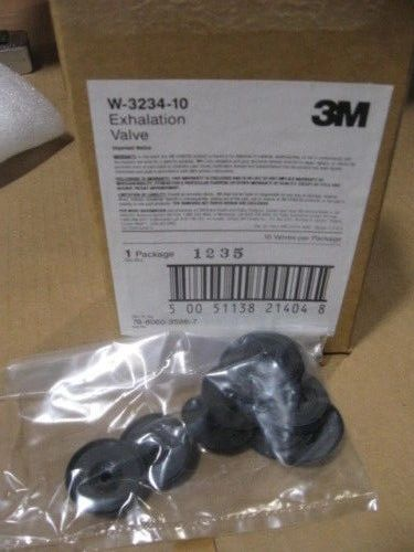 PACK OF 10 3M EXHALATION VALVES W-3234-10 NEW