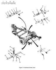 M101 HOSE ASSEMBLY 12354199 NOS