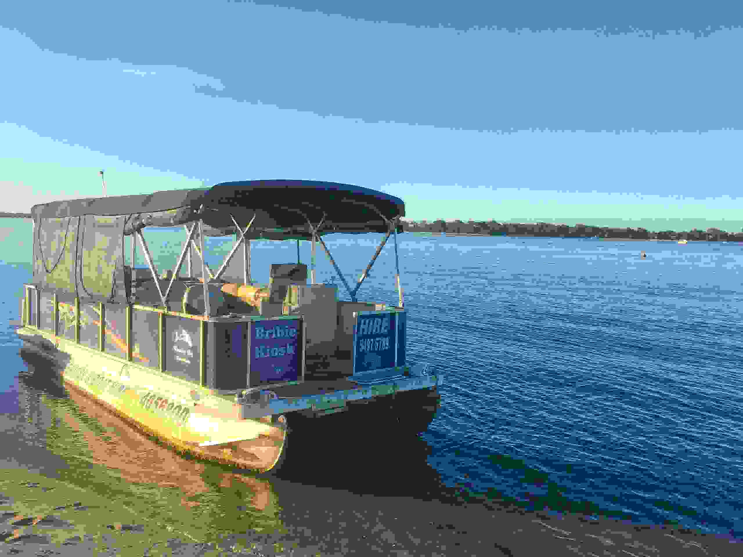 Bribie Beach Shack, Coffee, take away food, boat hire, fishing, bait, tackle, bbq party boat hire,