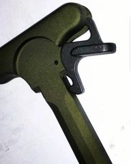 LMT DEFENSE ANODIZED GREEN AR15 CHARGING HANDLE