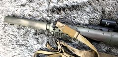 AEM5 KNURLED .22 Cal (MK12 suppressor)