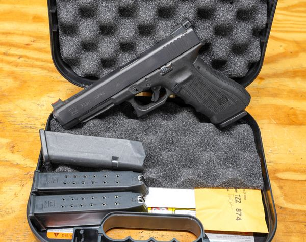 Glock 35 Gen 4 (frying pan finish) .40SW