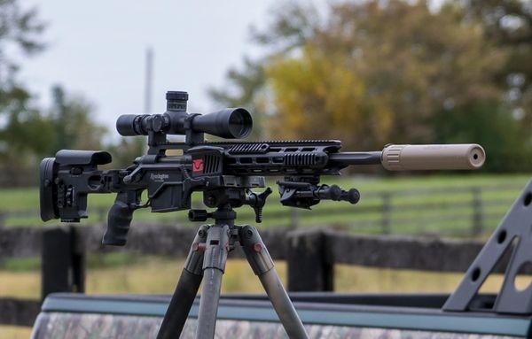 "Remington XM2010 .300 Win Mag Bolt Action Rifle w/ Leupold Scope & Suppressor | 24"" Barrel | Complete Sniper Deployment Kit"