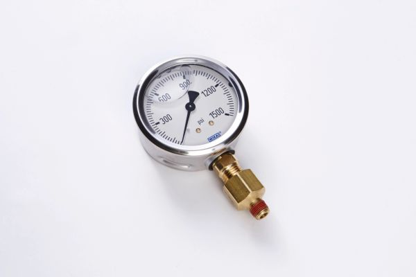 "Nitrous Gauge 4"" w/ Fitting"