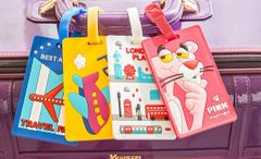 NT001-Cute colorful name tag for backpack/luggage