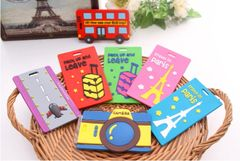 NT006-Cute colorful name tag for backpack/luggage