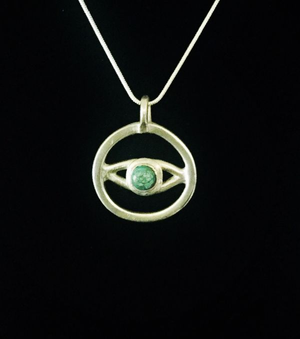 A talisman handcrafted in pure silver that is recognised all over the world as a symbol of protectio