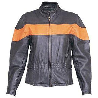 AL2171-Ladies Orange Stripe Jacket