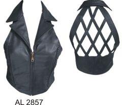 AL2857 Halter Top with Braids