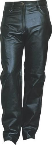Ladies Leather Five pockets pants Anline Cowhide