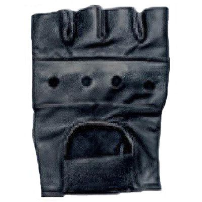 AL3000-Leather Fingerless Glove
