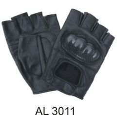AL3011 Kevlar Knuckles fingerless gloves