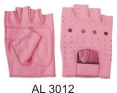 AL3012 Ladies Pink Fingerless Gloves