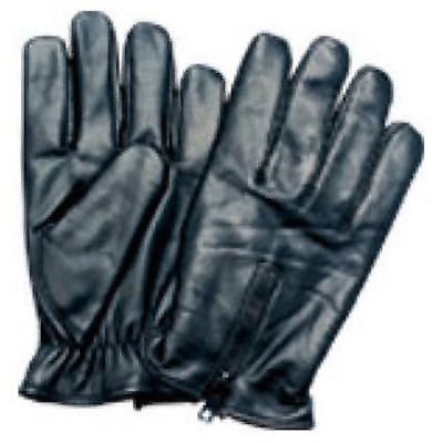 AL3017-Leather lightly Lined Driving Glove