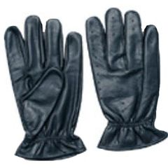 AL3018-Leather Elastic Wrist Unlined Glove