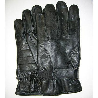 AL3025-Men's Vented Fingers Leather Gloves