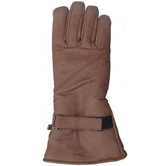 AL3053-Brown Leather Riding Glove