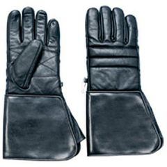 AL3059-Leather PVC Gauntlet Cuff Glove