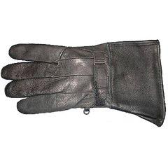 AL3066-Lambskin Leather Gauntlet Glove