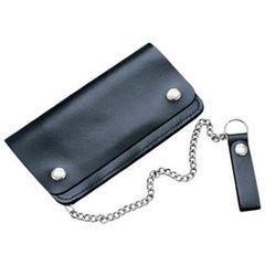AL3202-Biker's Large Leather Wallet